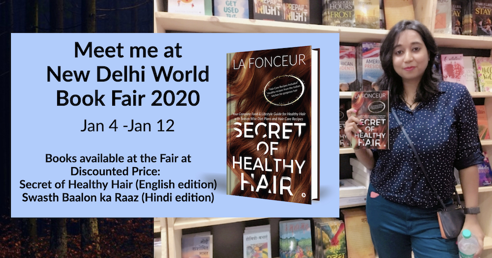 Meet La Fonceur at New Delhi World Book Fair 2020 at Pragati Maidan, Delhi on Jan 4, 5 & 6