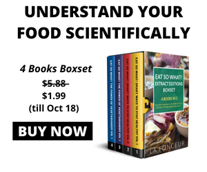 Eat So What! Extract Editions Boxset: 4 Books in 1